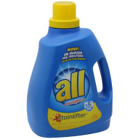 All Liquid Laundry Ultra HE Detergent 100oz Case of 4