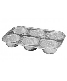 6 Cup Muffin Tin Case of 500