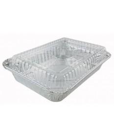 Aluminum  5lb Oblong Dome Lid