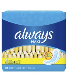 Always Maxi Regular Without Wings  48ct