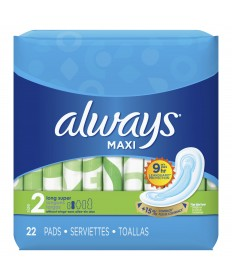 Always Maxi W/O Wings Long Super  22ct