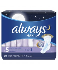 Always Maxi Wings  6/20ct