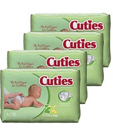 Cutie Diapers Size 2 168ct