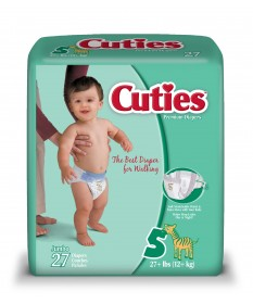 Cutie Diapers Size 5 4/27ct
