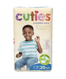 Cutie Diapers Size 7 4/20ct