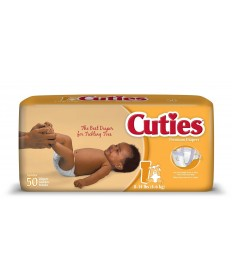 Cutie Diapers Size 1 4/50ct