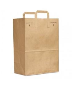 1/4- BBL 17x6x29 Kraft Paper Bag 250/cs