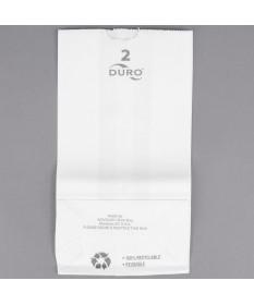 #2 White Paper Bag 12/500