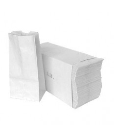 #5 Bag Grocery  White   Bundle of 3000