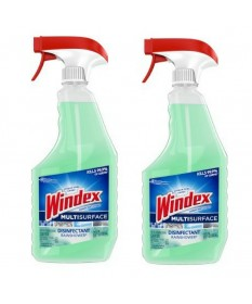 Windex Glass Cleaner Spray Multi surface w/ Glade Green 32oz Case of 8