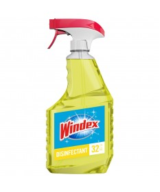 Windex Glass Cleaner Spray Multi surface Yellow 23oz Case of 8