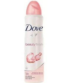 Dove Deodorant Spray - Pink/Beauty Finish 5oz Pack of 6