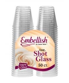 1oz Clear Shot Cups 50/50pk