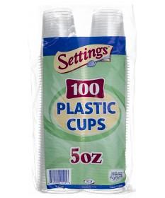 5oz Plastic Cup 100ct