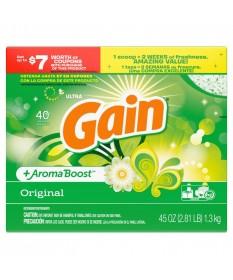Gain Powder Laundry Detergent 45oz