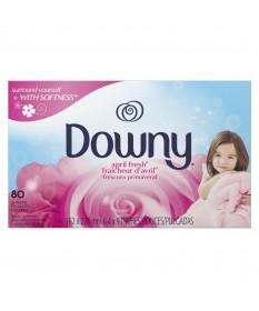 Downy Sheets April Fresh   9/80ct