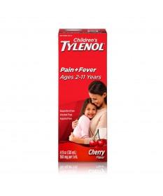 Children's Tylenol Cherry 4 Fl oz Case of 6