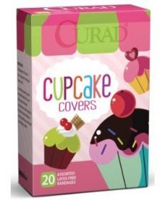 Curad Bandages Cupcake Covers   20ct 6/cs