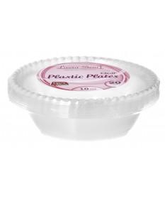 18oz Clear Plastic Bowls 20/20pk