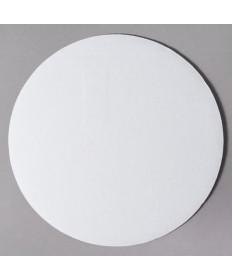 """10"""" White Corrugated Cake Circle Case of 250"""