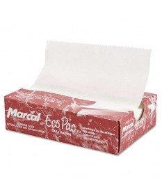 "Eco-pac Interfolded Wax Paper 6"" x 10.75"" Case of 6000"