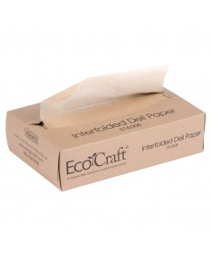 "Ecocraft Deli Wrap 14"" x 14"" 4/1000"