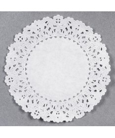 """12"""" White Lace Doilies Case of 5000"""