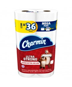 Charmin Ultra Strong Tissue Roll Red