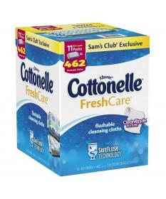 Cottonelle Flushable Wipes Dispenser w/11 Refill Packs