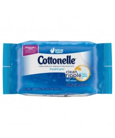 Cottonelle Flushable Wipes Refill  42ct