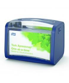 Tork Xpressnap Tabletop Napkin Dispenser Blue  Unit